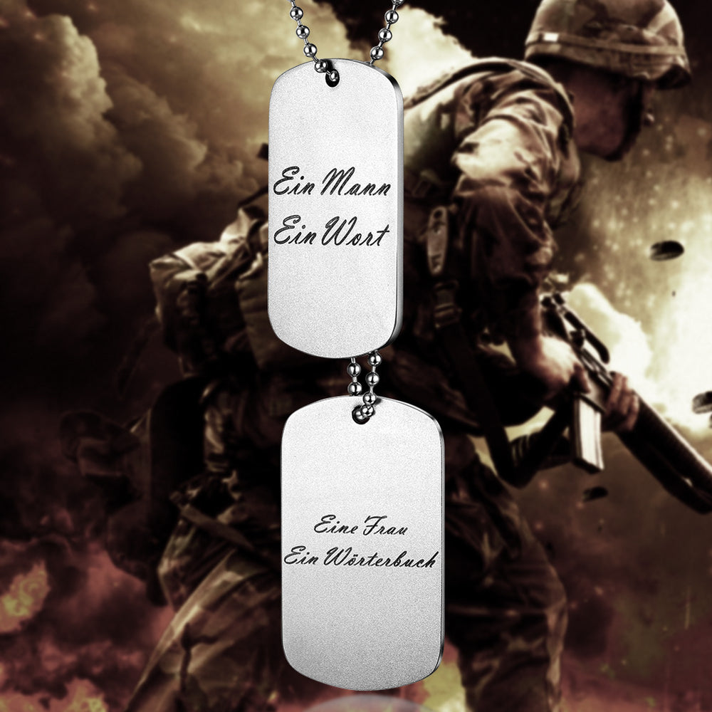Load image into Gallery viewer, Bespoke Tag Pendant Necklace