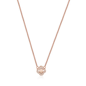 Load image into Gallery viewer, CZ Clover Necklace