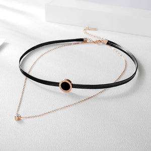 Layered Choker Necklace