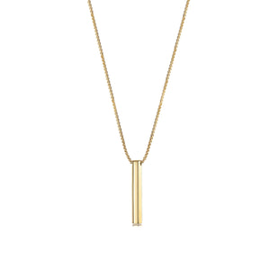 Y-Style Vertical Bar Necklace