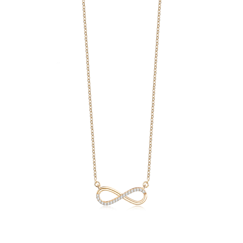 Gold Illimited Chain Necklace