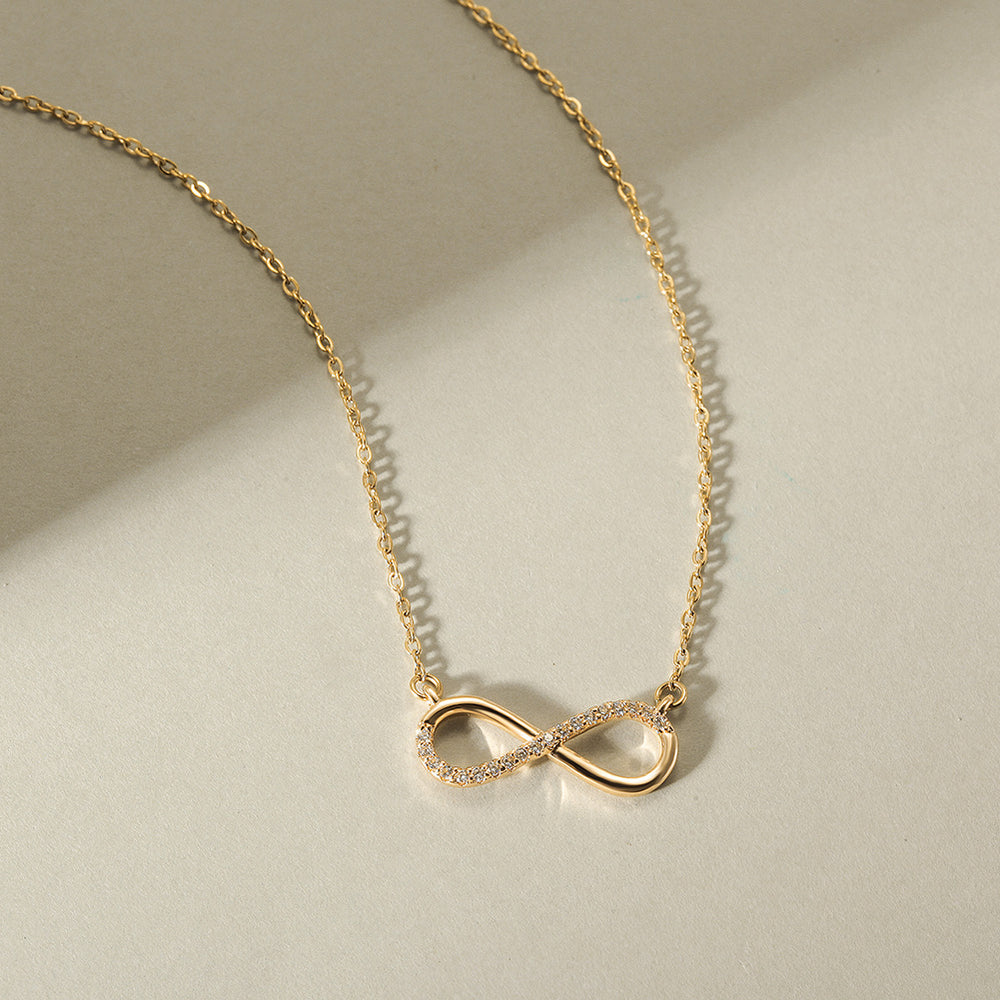 Load image into Gallery viewer, Infinity CZ Necklace