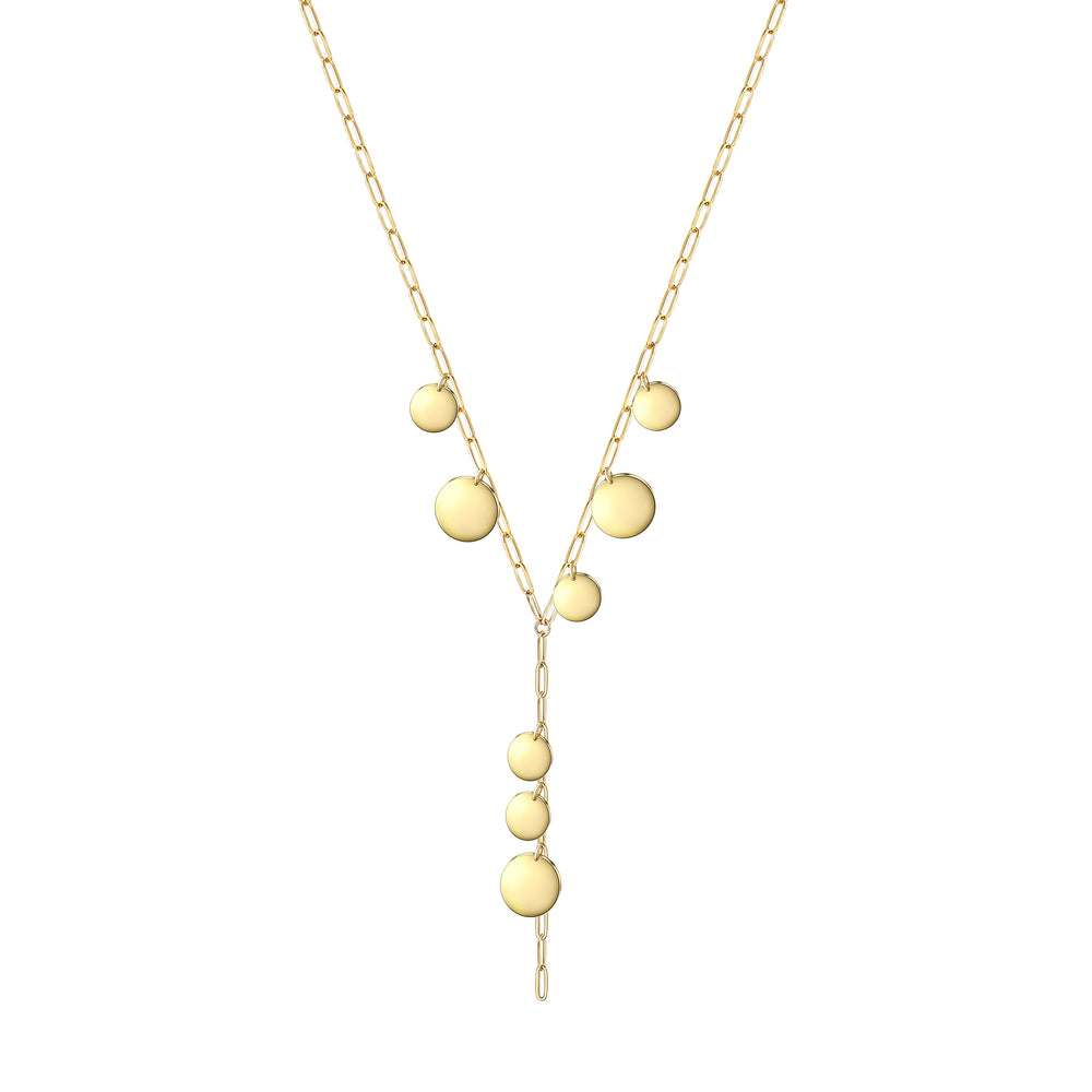 Dots Lariat Necklace