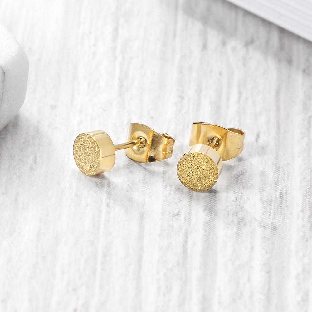 Load image into Gallery viewer, Fireball stud earrings