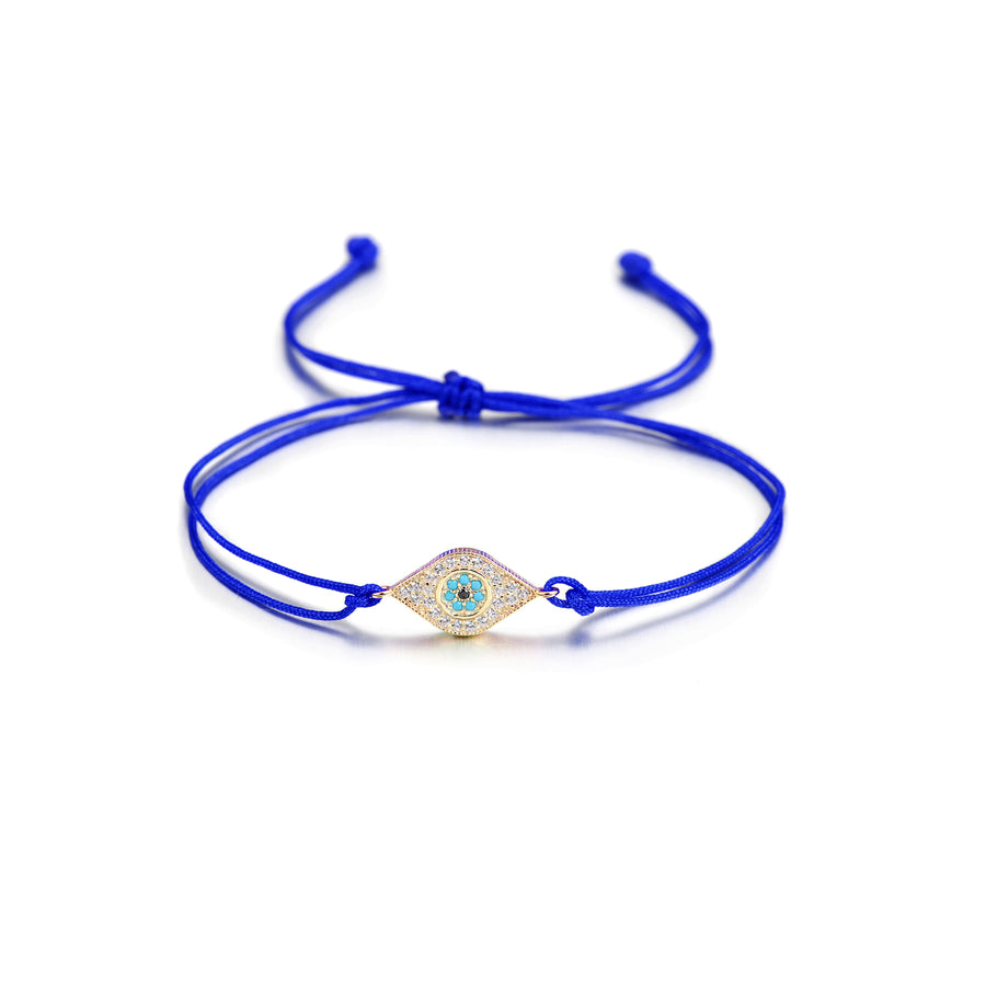 Cleanse Away Evil String Bracelet