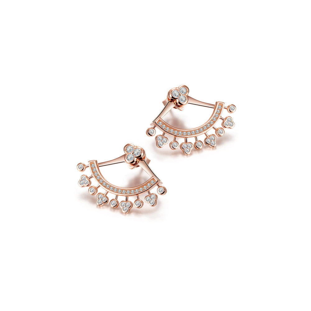 PAVÉ Ear Jacket Earrings