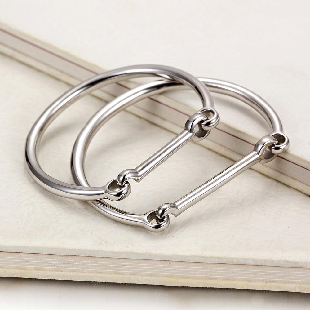 Love Couple Bar Bangle