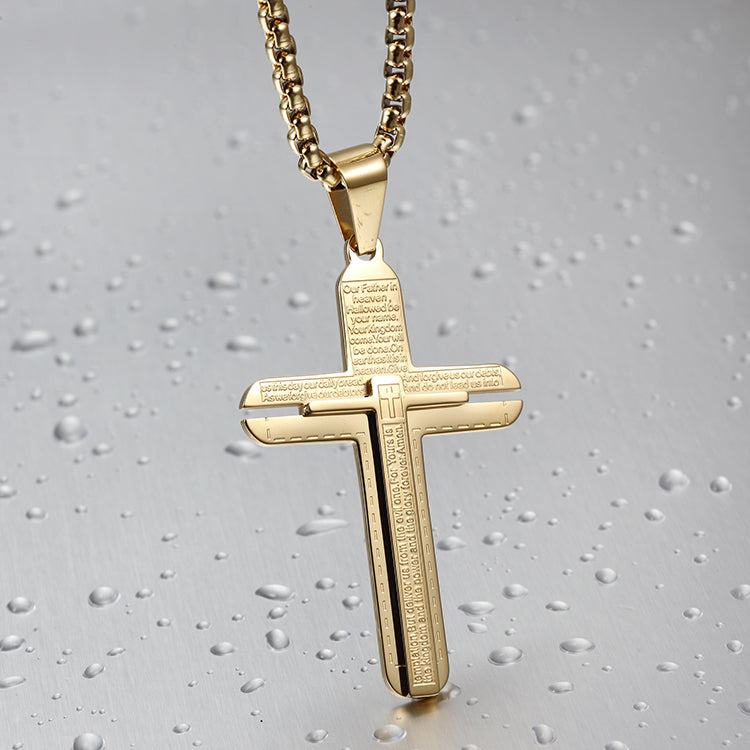 Classic Cross Pendant Necklace