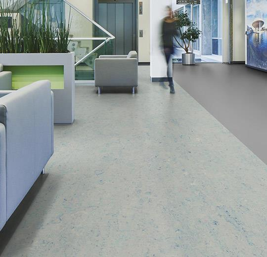 Marmoleum Sheet Splash - Blue Moon - 3429 B&R: Flooring & Carpeting Forbo