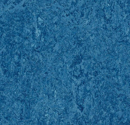 Marmoleum Composition Tile (MCT) - Blue 3030 B&R: Flooring & Carpeting Marmoleum
