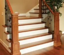 "COREtec Plus HD, 4"" - Stair Treads B&R: Flooring & Carpeting USFloors"