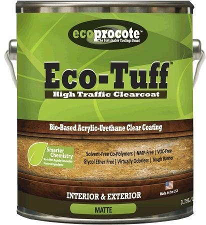 Eco-Tuff Clear Coat B&R: Lumber & Wood Products Eco Safety Products