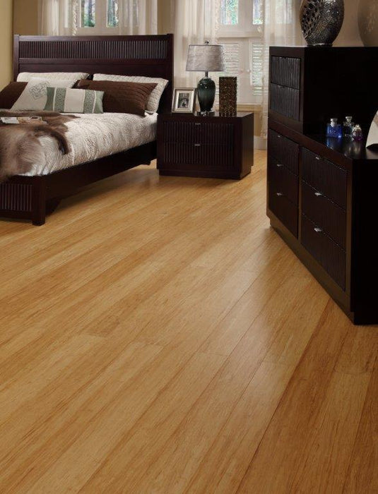 "EcoTimber 3-3/4"" Honey Bamboo Strand B&R: Flooring & Carpeting Tesoro Woods / EcoTimber"