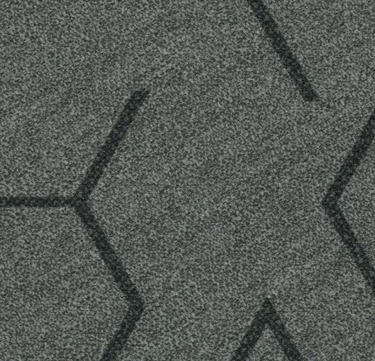 Flotex Modular - Triad - Steel 131007 B&R: Flooring & Carpeting Forbo Other
