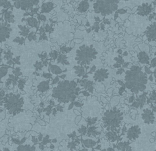Flotex Vision - Floral - Silhouette 650001