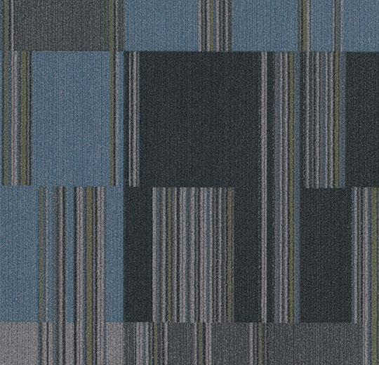 Flotex Tile - Cirrus - t570008 - Onyx B&R: Flooring & Carpeting Forbo Other