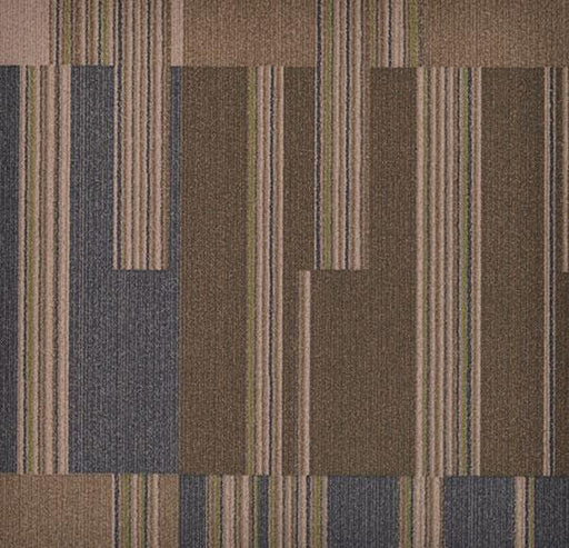 Flotex Tile - Cirrus - t570012 - Walnut B&R: Flooring & Carpeting Forbo Other