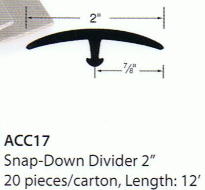 Forbo Snap-Down Divider Low Profile