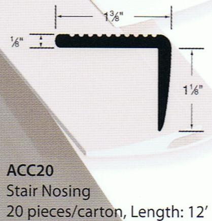 Forbo Stair Nosing B&R: Flooring & Carpeting Forbo USA