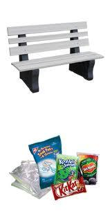 TerraCycle High Back Park Bench H&G: Furniture TerraCycle