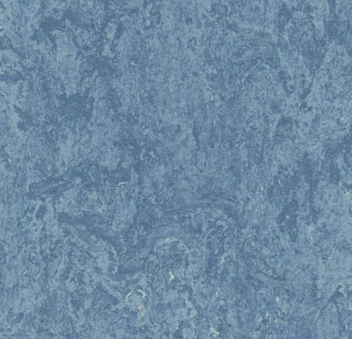 Marmoleum Composition Tile (MCT) - Fresco Blue 3055 B&R: Flooring & Carpeting Marmoleum