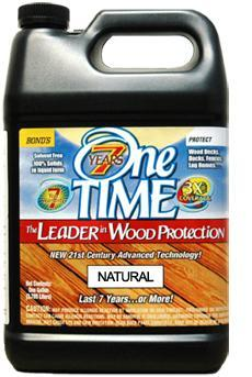 One TIME Wood Preserver