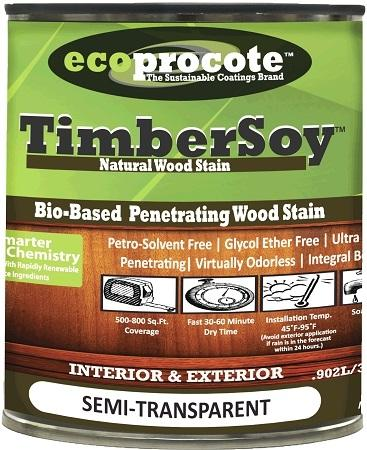 TimberSoy Natural Wood Stain, Quart B&R: Paint, Stains, Sealers, & Wall Coverings B&R: Paint, Stains, Sealers, & Wall Coverings