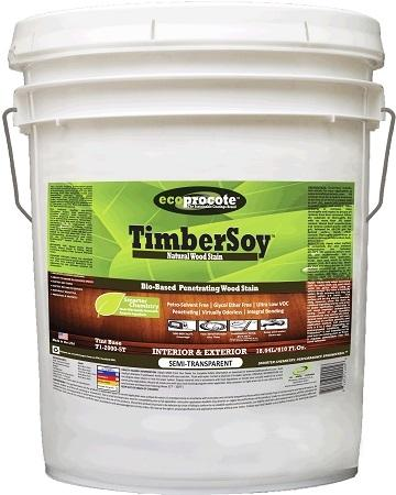 TimberSoy Natural Wood Stain, 5-Gallon