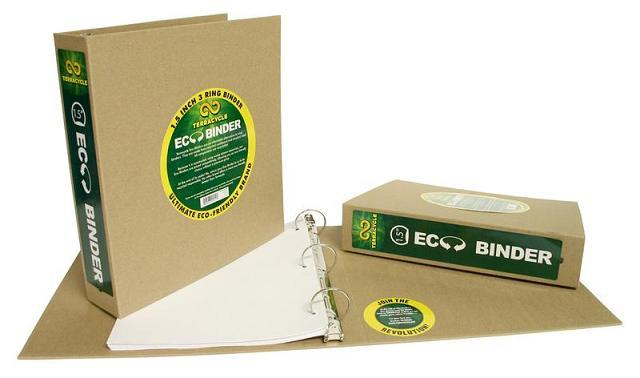 "TerraCycle 1.5"" Chipboard Binder - Case of 12 O&C: Office Supplies TerraCycle"