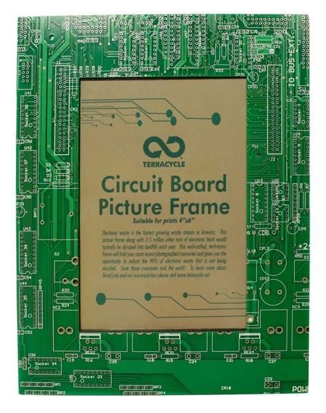 TerraCycle Circuit Board Picture Frame - 4x6 H&G: Home Decor TerraCycle