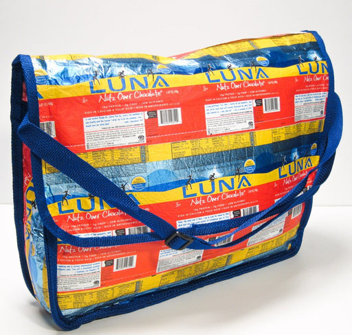 TerraCycle Messenger Bag - Clif Bar B&K: School & Art Supplies TerraCycle