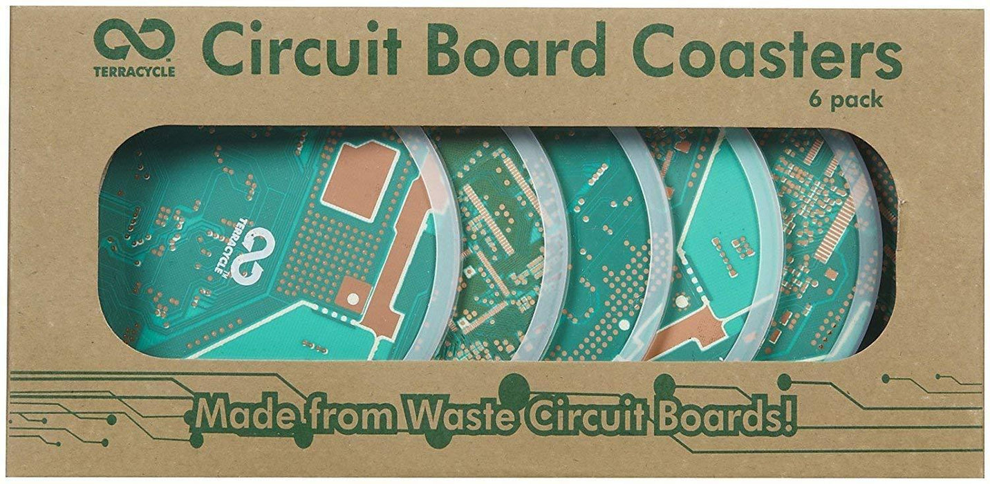 TerraCycle Circuit Board Coasters H&G: Home Decor TerraCycle