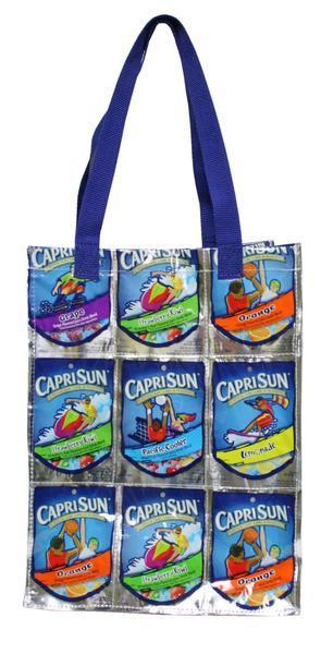 TerraCycle Drink Pouch Tote - Medium B&K: School & Art Supplies TerraCycle