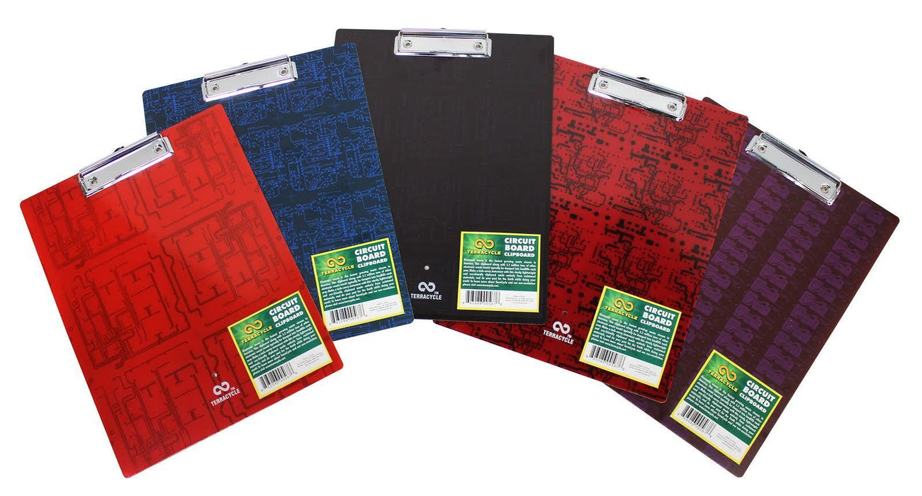 Terracycle Clipboard- Circuit Board - Set of 24 H&G: Home Decor TerraCycle