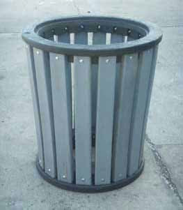 TerraCycle Waste Receptacle Aluminum Rings H&G: Furniture TerraCycle