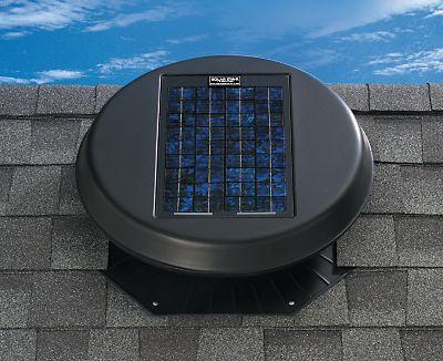 Solar Star RM 1500 Attic Fan B&R: Energy Conservation Solatube