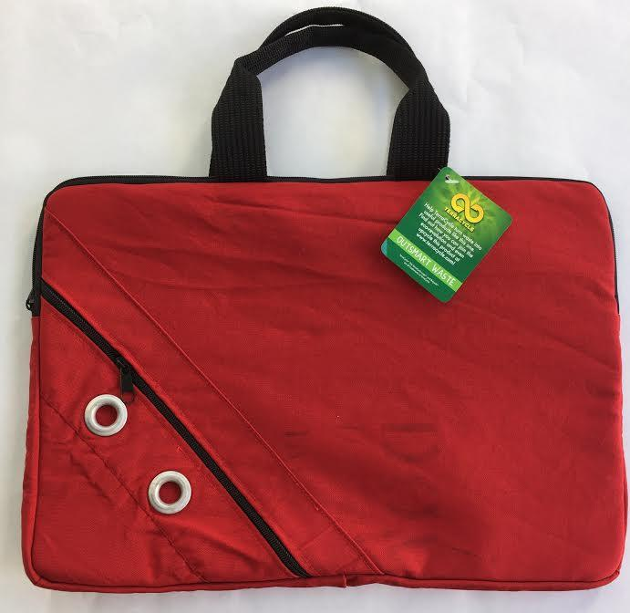 TerraCycle Mail Bag Laptop Sleeve - Red RG: Reusable Bags TerraCycle