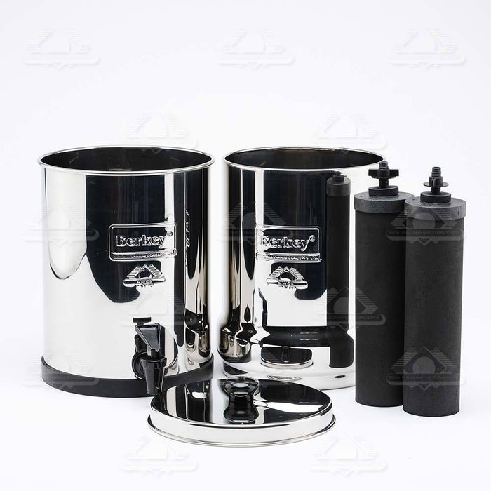 Travel Berkey® System (1.5 gal) C&P: Air & Water Purification Berkey Water Filters