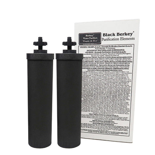 Black Berkey® Purification Elements C&P: Air & Water Purification Berkey Water Filters