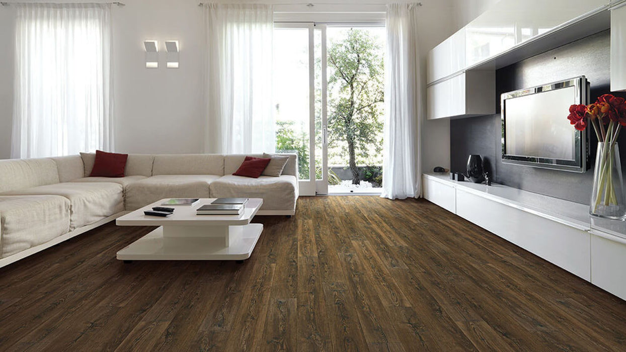 COREtec Plus HD Smoked Rustic Pine 50LVR642 B&R: Flooring & Carpeting USFloors