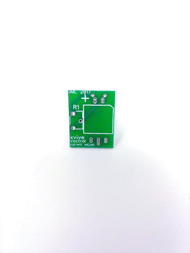Xvive Vactrol Current adjust PCB
