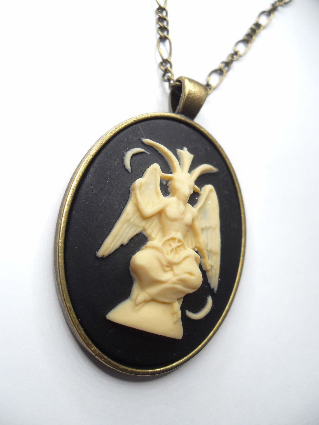 BAPHOMET CAMEO NECKLACE
