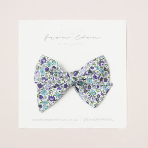 Cotton Bow - Bluebell