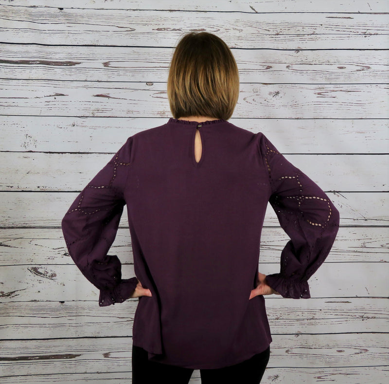 Plum Perfect Blouse