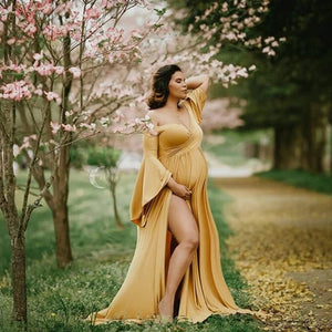 Dramatic Sweetheart Maternity Gown (4251147370628)