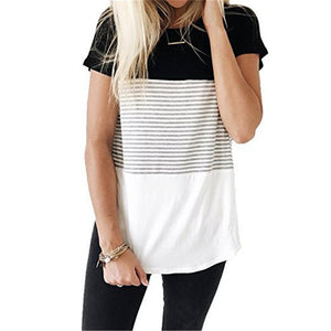 Three Block Nursing Top