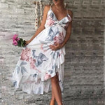 Ruffle Maternity Dress (3732977025084)