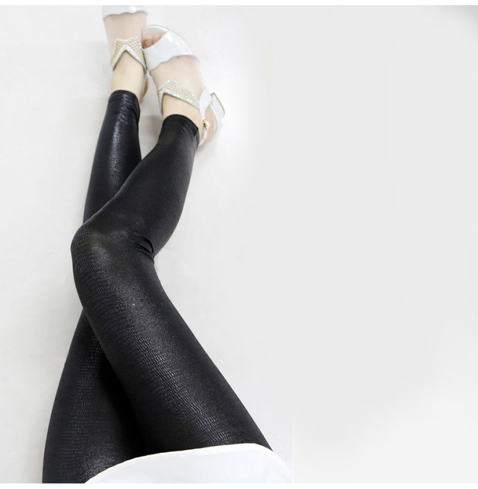 Textured Design Tiffany Leggings (4250150699140)