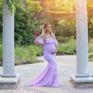 Mermaid Maternity Dress (4196526325892)
