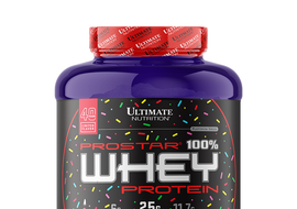 PROSTAR 100% WHEY CHOCOLATE BIRTHDAY CAKE
